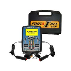 PORTATREE ELIMINATOR NEXT GEN DUAL LANE PRACTICE TREE WITH CARRY / STORAGE CASE