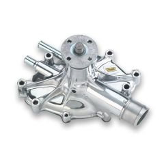 Weiand Action +Plus Aluminum Water Pump Ford 5.0L Polished Finish