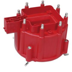MSD GM HEI Distributor Cap Red,MSD8411