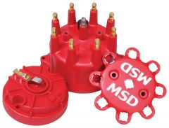 MSD Red Cap/Rotor Kit MSD84315