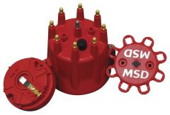 MSD84335 MSD RED CAP/ROTOR KIT