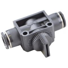 RJS7001605 UNION HAND VALVE FOR 3/8IN OD PNEU TUBING VENTED TYPE