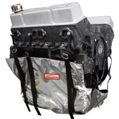 RACERDIRECT.NET ALUMINIZED NON-SFI ENGINE DIAPER KIT INCLUDES 8 ANCHOR MOUNTS & 1 OIL PAD