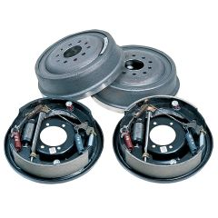 STRANGE DRUM BRAKE KIT - FOR LATE BIG FORD HOUSING ENDS