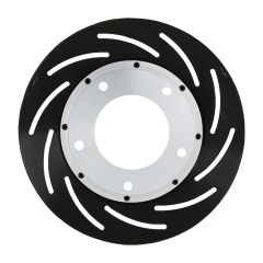 """STRANGE 10"""" 2 PIECE ROTOR ASSEMBLY FOR MULTIPLE BRAKE KITS - RIGHT HAND SIDE FITS SPINDLE MOUNT WHEELS REQUIRING 1"""" OFFSET"""