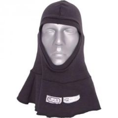 RJS SFI 3.3 FR HOOD DOUBLE LAYER FULL FACE BLACK