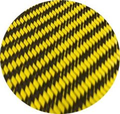 YELLOW AND BLACK CARBON FIBER FOR HI5BER BOARD