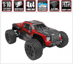 REDCAT RACING BLACKOUT XTE 1:10 SCALE MONSTER TRUCK OFF ROAD ELECTRIC RADIO CONTROLLED BRUSHED MOTOR AND ESC