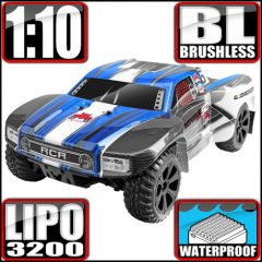 REDCAT BLACKOUT SC PRO 1/10 SCALE BRUSHLESS ELECTRIC SHORT COURSE TRUCK BLUE