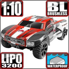 REDCAT BLACKOUT SC PRO 1/10 SCALE BRUSHLESS ELECTRIC SHORT COURSE TRUCK RED