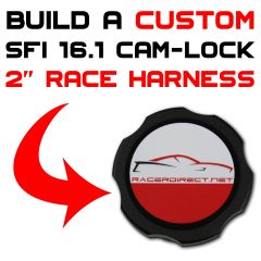 2-INCH SFI 16.1 CAM-LOCK RACE HARNESS - CUSTOMIZE