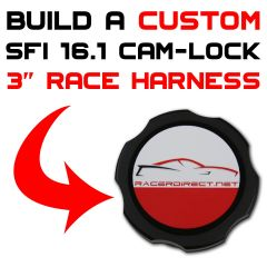 3-INCH SFI 16.1 CAM-LOCK RACE HARNESS - CUSTOMIZE