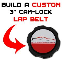 3-INCH CAM-LOCK LAP BELT - CUSTOMIZE