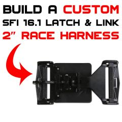 Design Your Custom 2 Inch SFI 16.1 Latch and Link Junior Race Harness