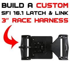 Universal Latch and Link Racing Harness SFI 16.1 - SHIPS SAME DAY, ORDER BY 3:00PM EST -