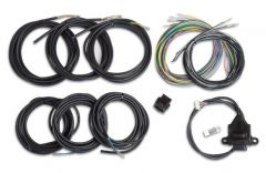 HOLLEY EFI DIGITAL DASH I/O ADAPTER WITH UNTERMINATED VEHICLE HARNESS, HLY 558-433