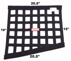"RACERDIRECT SFI 27.1 DRAG RIBBON WINDOW NET (20.5"" X 15"" X 20.5"" X 19"")"