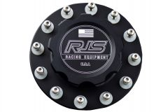 RJS BILLET FUEL CELL CAP 6 BOLT WITH HARDWARE RJS7613