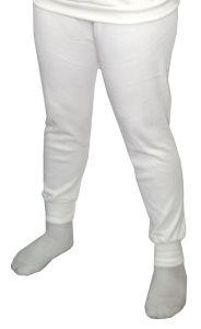 RACERDIRECT.NET RACING UNDERWEAR SFI 3.3 UNDERGARMENT BOTTOM PANTS WHITE