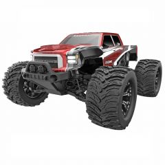 REDCAT RACING DUKONO 1/10 MONSTER TRUCK RTR RED BRUSHED MOTOR AND ESC