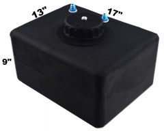 RDN3006401 RACERDIRECT.NET 8 GALLON ECONOMY POLY FUEL CELL WITH A PLASTIC CAP