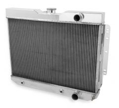 Frostbite Aluminum Radiator - 4-Row, 1959-1965 Chevrolet BelAir/Biscayne/Chevelle/Impala/El Camino/Kingswood L6/V8 194/230/283/327/409/427, FB114