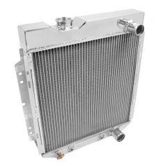 Frostbite Aluminum Radiator - 4-Row, 1962-1966 Ford/Mercury Mustang, Shelby, Comet, Falcon, Ranchero 260/289/302/427, FB122