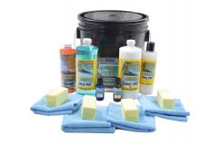 HAWAIIAN ISLAND SHINE VEHICLE COMPLETE CERAMIC COATING KIT FOR PAINT RUBBER AND TRIM