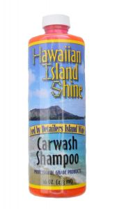 HAWAIIAN ISLAND SHINE CAR WASH SHAMPOO 16oz