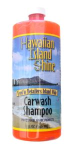 HAWAIIAN ISLAND SHINE CAR WASH SHAMPOO 32oz