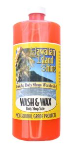 HAWAIIAN ISLAND SHINE WASH & WAX BODY SHOP SAFE 32 oz