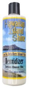 HAWAIIAN ISLAND SHINE DEOXIDIZER CLEANER WAX 16oz