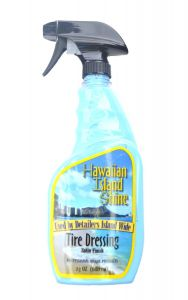 HAWAIIAN ISLAND SHINE TIRE DRESSING SATIN FINISH 23 oz