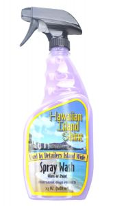 HAWAIIAN ISLAND SHINE SPRAY WASH PAINT & GLASS 23 oz