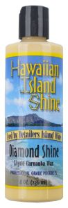 HAWAIIAN ISLAND SHINE DIAMOND SHINE LIQUID CARNAUBA WAX 8oz