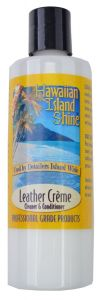 HAWAIIAN ISLAND SHINE LEATHER CREME 8oz