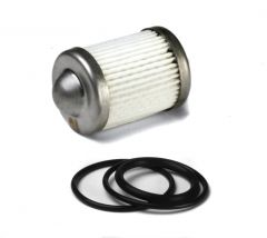 HLY 162-556 HOLLEY FUEL FILTER ELEMENT AND O-RING KIT FITS 100 GPH BILLET FUEL FILTERS 10 MICRON