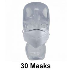 30 PIECES  KN95 FACE MASK 5 -PLY VIRUS PROTECTION, FDA APPROVED