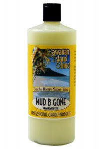 HAWAIIAN ISLAND SHINE MUD B GONE DIRT AND DEBRIS PREVENTATIVE TREATMENT