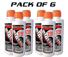 6 PACK GEDDEX GED-916A DIAL IN WINDOW MARKER CHALK RACING MARKER 916A ORANGE