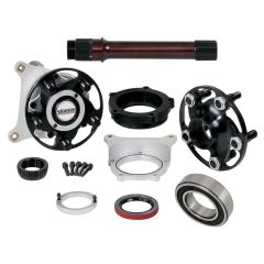 STRANGE TWO PIECE PRO STOCK AXLE PACKAGE - WITH CALIPER MOUNTS FOR STRANGE BRAKES
