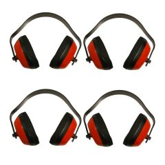 RACERDIRECT EAR MUFFS - REDUCE NOISE TO LEVEL OF NORMAL CONVERSATION FOUR PACK