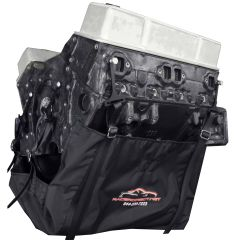 "RACERDIRECT NON-SFI ""SPORTSMAN"" ENGINE DIAPER KIT INCLUDES 6 ANCHOR MOUNTS & 1 OIL PAD"