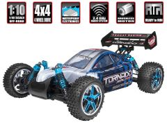 REDCAT RACING TORNADO EPX PRO 1/10 SCALE ELECTRIC RADIO CONTROLLED BUGGY BRUSHLESS MOTOR AND ESC