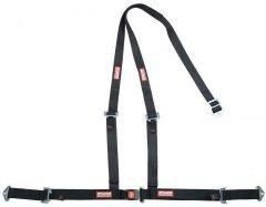 RACERDIRECT OFF ROAD, BUGGY HARNESS, PUSH BUTTON BUCKLE, Y FLOOR MOUNT, PULL UP LAP BELTS, BOLT IN