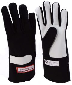 RACERDIRECT RACING GLOVES SFI 3.3/5 BLACK