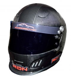 RACERDIRECT CARBON FIBER STRIPED FULL FACE HELMET SNELL SA 2015 SFI 24.1 NON DOT