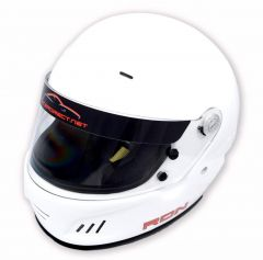 RACERDIRECT FULL FACE HELMET SNELL SA 2015 WHITE SFI 24.1 NON DOT