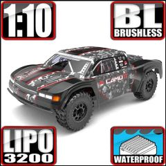 REDCAT CAMO TT 1/10 SCALE BRUSHLESS ELECTRIC TROPHY TRUCK CAMO RED