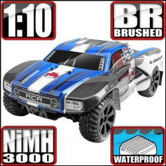 REDCAT BLACKOUT SC 1/10 SCALE ELECTRIC SHORT COURSE TRUCK BLUE